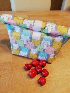 Zero Waste Lunchbag Lunchbox Brotbeutel Brotzeit Obst