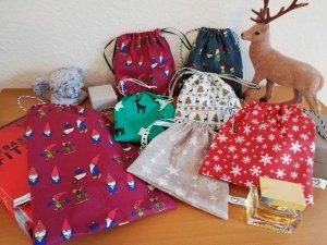 Geschenksäckchen Weihnachten