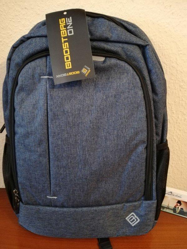 BoostBoxx Boostbag One Notebook Rucksack Cityrucksack Jeans Blau