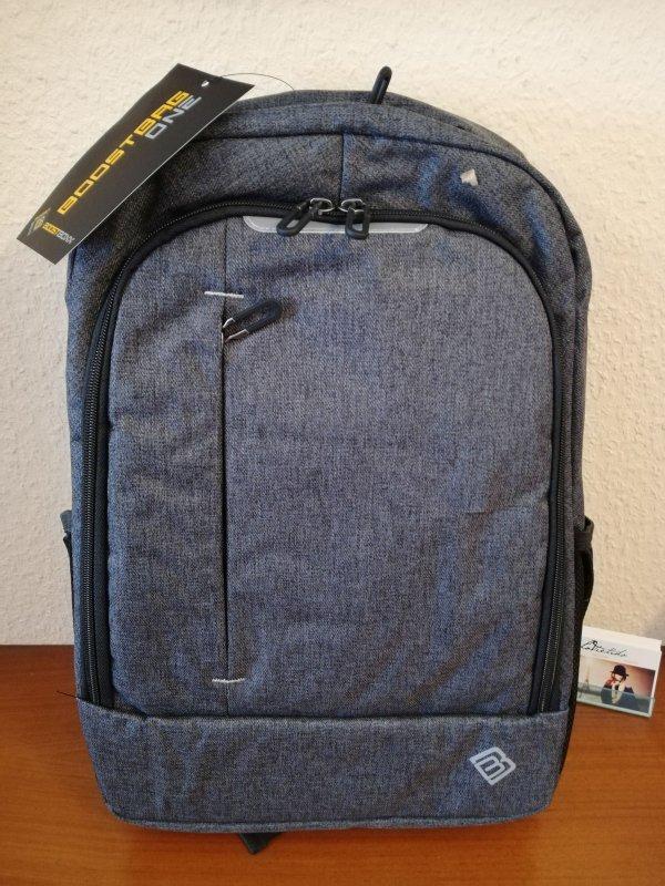 BoostBoxx Boostbag One Notebook Rucksack Cityrucksack Grau